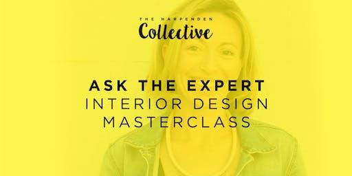 Ask The Expert: Sarah Pritchard- The House Clinic- Interior Design Masterclass