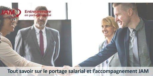 JAM. Réunion d'information sur le Portage Salarial