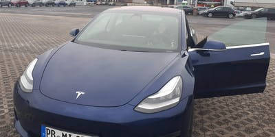 Test Drive Tesla Model 3 - Driving Event