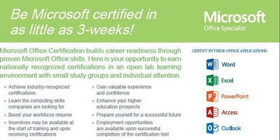 Free Microsoft Office and Customer Service Classes  for youth 17-24!!!