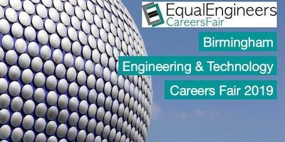Birmingham Engineering & Tech Careers Fair 2019