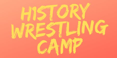 H1story Wrestling Camp Ponte Vedra tickets