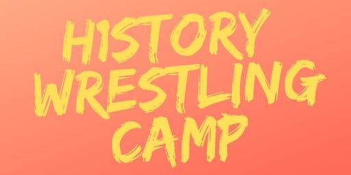 H1story Wrestling Camp Ponte Vedra