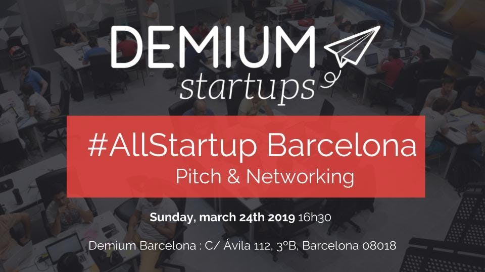 Pitch & Network #AllStartup Barcelona