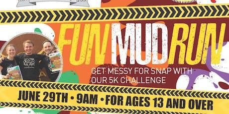 SNAP Fun Mud Run tickets
