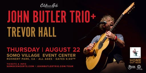 John Butler Trio with Trevor Hall and Austin Prince @ SOMO