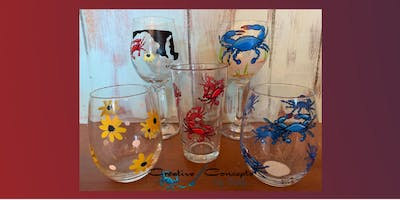 Maryland Wine Glass Paint Night