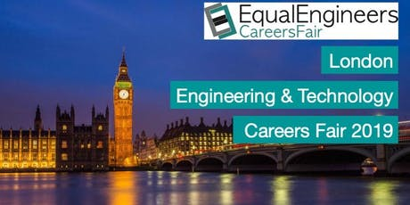 London Engineering & Tech Careers Fair 2019 tickets