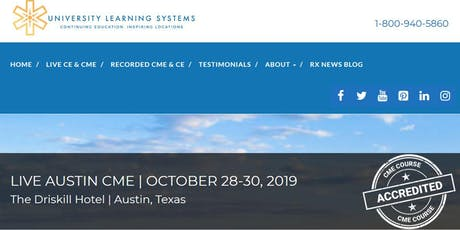 Live Austin CME(ULS) tickets