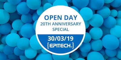 Open Day #7 - 20th anniversary special - Campus Epitech Brussels