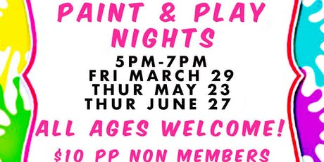 Paint & Play Nights tickets