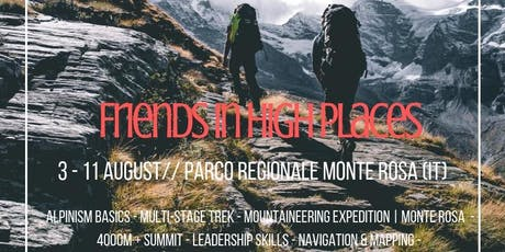 Friends In High Places // 7 Day Adventure // Expedition Monte Rosa billets