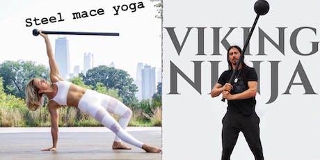 Viking Ninja: Mindful Mechanics and Steel Mace Yoga -Level 1 Workshop tickets