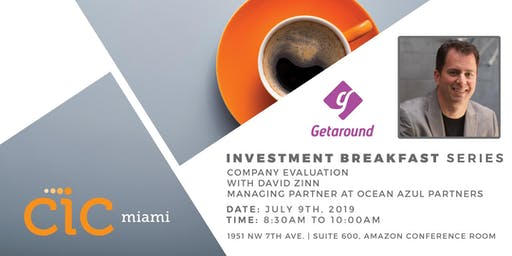 Investment Breakfast and Learn Series: COMPANY VALUATION
