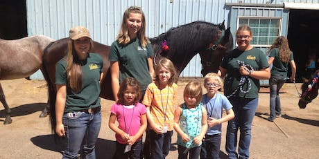 Little Wranglers: Barnyard Roundup Camp - Afternoon Session, Ages 4-8, $120 tickets