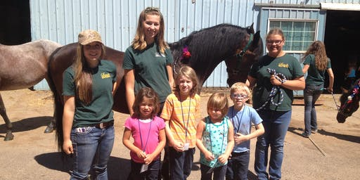 Little Wranglers: Ranch Olympics Camp - Afternoon Session, Ages 4-8, $120