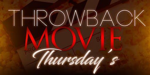 Throwback Movie Thursday's