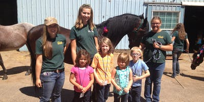 Little Wranglers: Ranch Olympics Camp - Morning Session, Ages 4-8, $120
