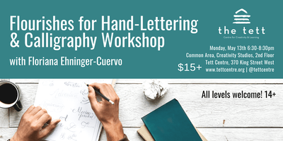 Flourishes for Hand Lettering & Calligraphy Workshop