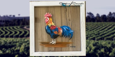 Rooster Window Paint Night