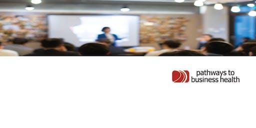 Edmonton, AB - Fall 2019 pathways to business health Symposium