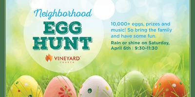 Wheaton Easter Egg Hunt