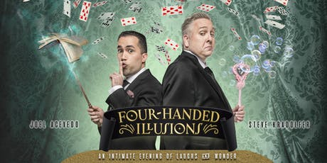 Four-Handed Illusions: An Intimate Evening of Laughs & Wonder (Magic and Comedy) tickets