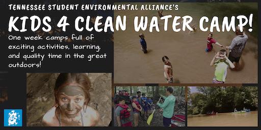 Kids 4 Clean Water Camp (June 24-28; Audubon Acres)