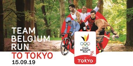 Run to Tokyo (Team Belgium) billets