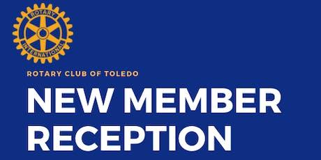 New Member Reception tickets