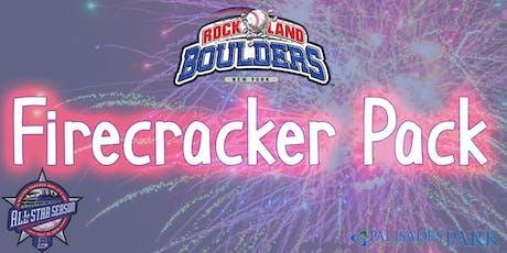 Rockland Boulders Firecracker Pack tickets
