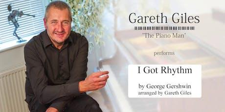 Gareth Giles Concert after his Playathon tickets