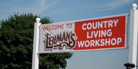Country Living Workshop tickets