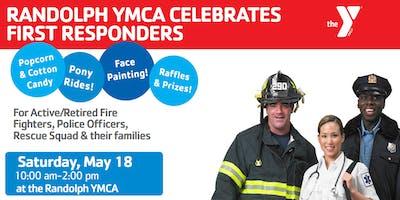 Randolph YMCA Celebrates First Responders