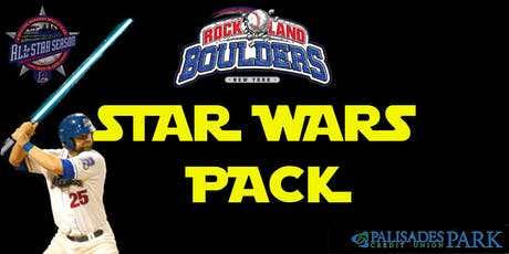 Rockland Boulders Star Wars Pack tickets