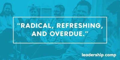 Leadership Camp: September 19-20, 2019