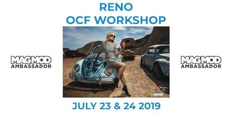 Reno July 23 & 24 Ruben Gorjian OCF & MagMod Photography Workshop tickets