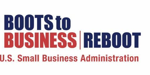 Boots to Business: Reboot Seminar/Webinar