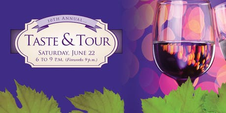 10th Annual Taste and Tour tickets
