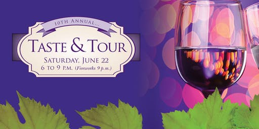 10th Annual Taste and Tour