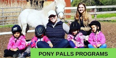 Pony Pals & Petite Pony Pals Programs tickets