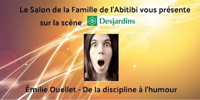 Conférence Émilie Ouellet - De la discipline à l\