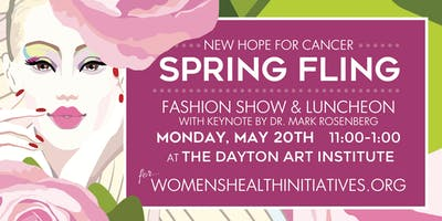 The New Hope For Cancer Spring Fling Fashion Show