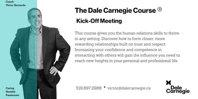 Dale Carnegie Course® - Kick-off (Kitchener)