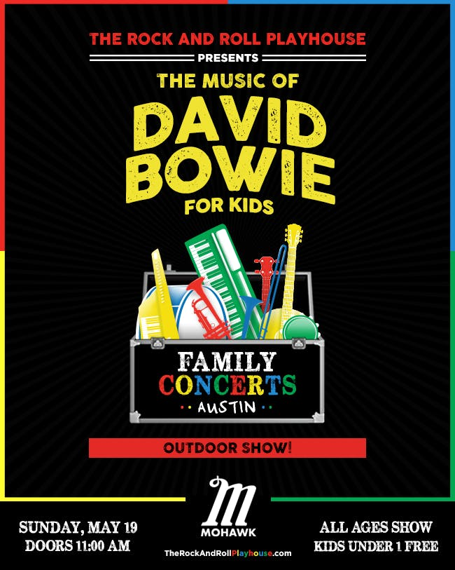 The Music of David Bowie for Kids - SOLD OUT
