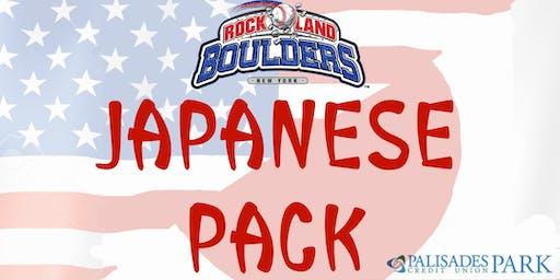 Rockland Boulders Japanese Pack