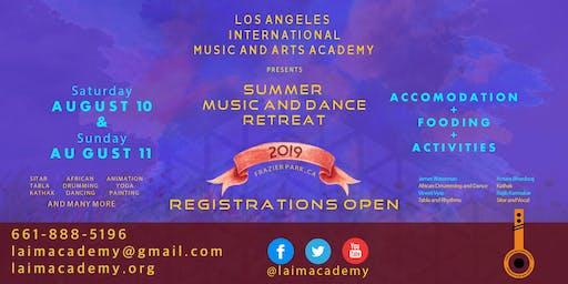 SUMMER MUSIC AND DANCE RETREAT 2019