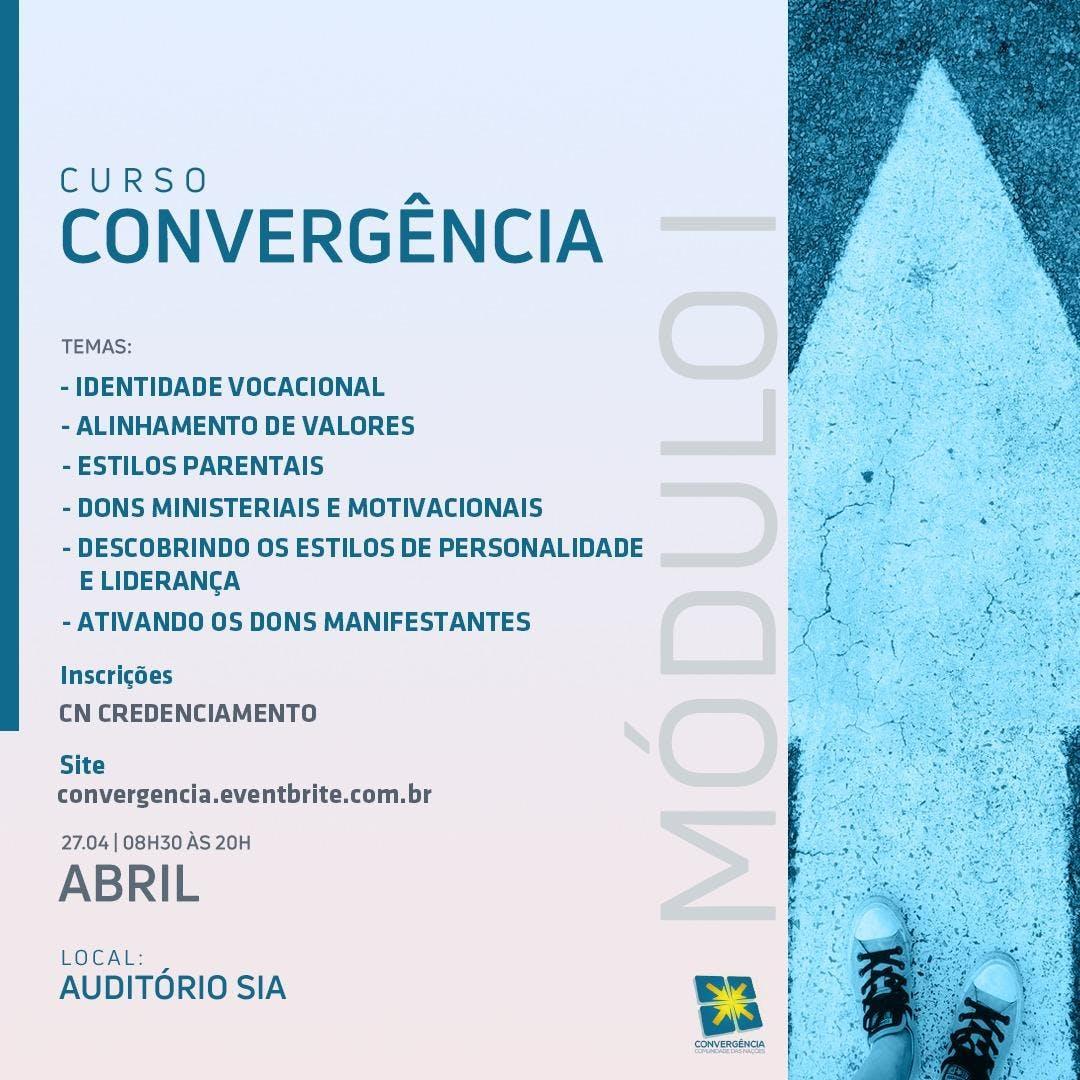 Curso De Convergência 23 Edição Sia 27 Abr 2019