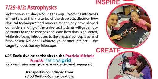 Girls Inc. Summer STEAM Week 2 : Astrophysics