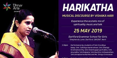 Dhruv Arts presents Vishaka Hari on 25th May 2019